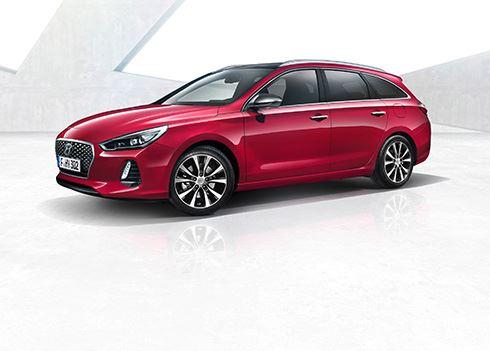 De allereerste foto's van de Hyundai i30 Wagon!