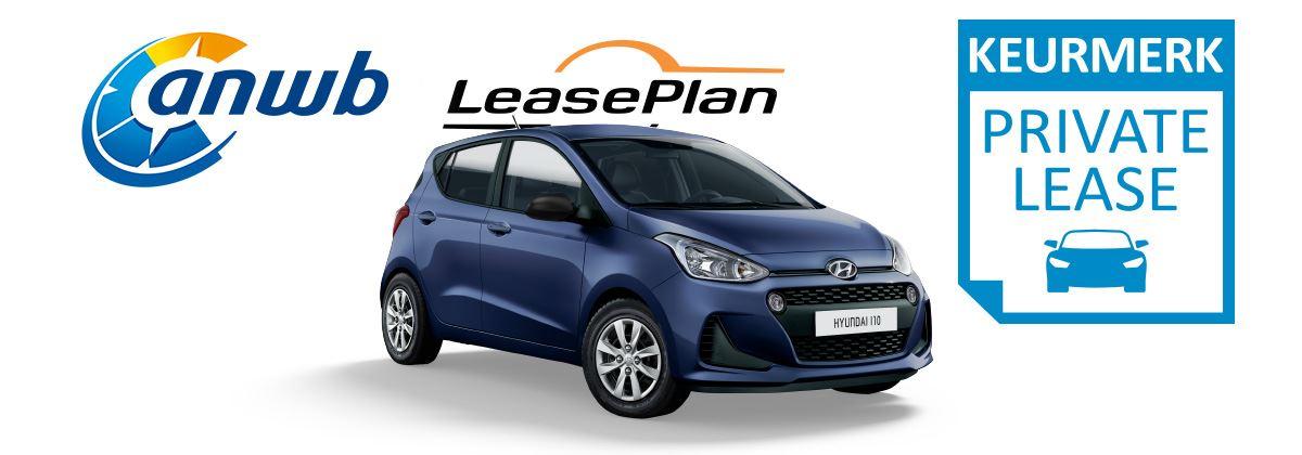 Een Hyundai i10 met Private Lease vanaf € 211 per maand*