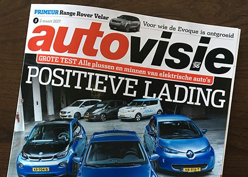 IONIQ Electric wint grote test met elektrische auto's bij Autovisie!