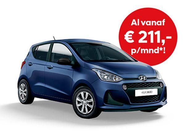 Actie! Hyundai i10 met Private Lease