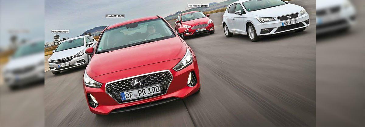 Wow! De nieuwe Hyundai i30 is dus beter dan de Opel Astra en Ford Focus!