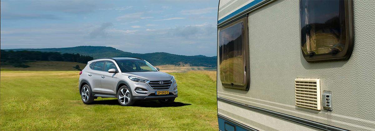 UPDATE: Is de Hyundai Tucson een goede caravantrekker?