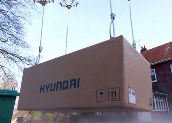 Primeur! Hyundai levert jouw nieuwe auto per drone!