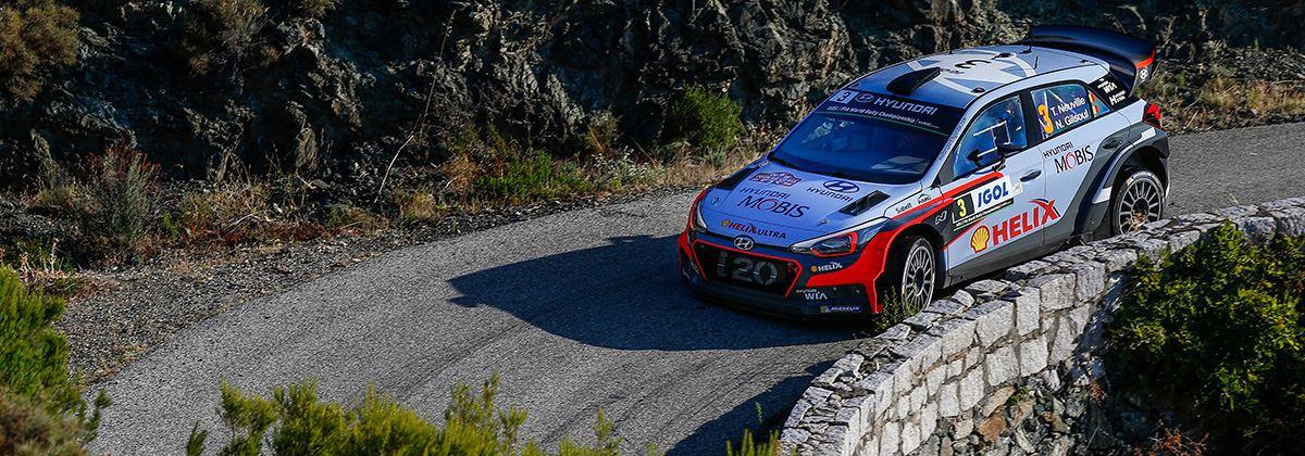 Hyundai klaar voor 'Rally van de tienduizend bochten'