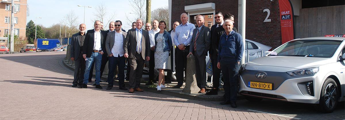 TCA kiest met Hyundai IONIQ Electric voor duurzame vloot
