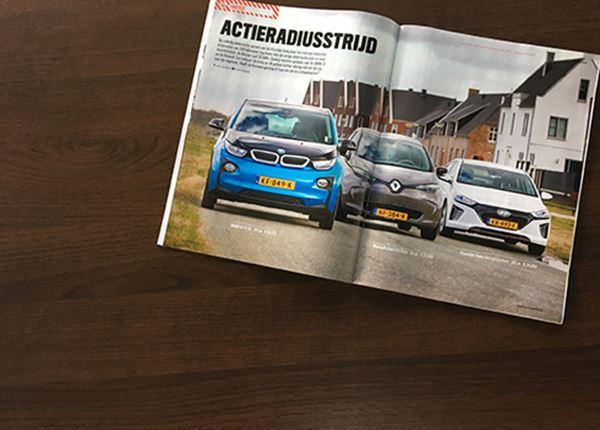 AutoWeek: Hyundai IONIQ Electric troeft BMW i3 en Renault Zoe af!
