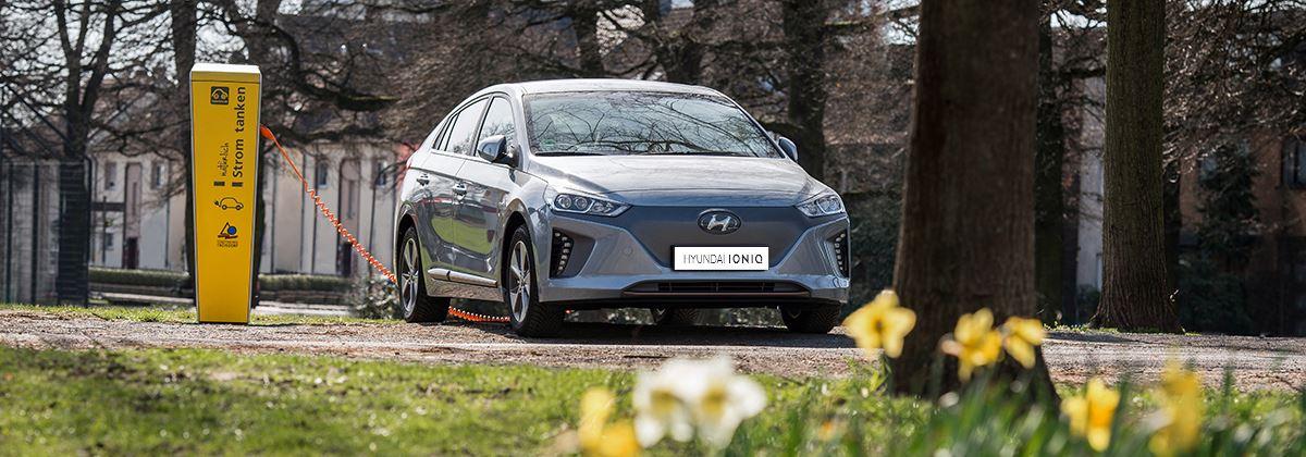 Met de Hyundai IONIQ Electric op roadtrip door Europa