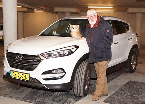 Bram Pater al dertig jaar fan van Hyundai