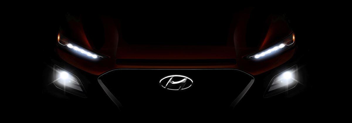 De gloednieuwe Hyundai Kona