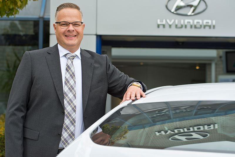 Ronald Dubbelman is de nieuwe algemeen directeur van Hyundai Motor Nederland.