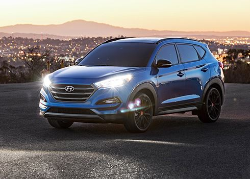 Welke van deze tien foto's van de Hyundai Tucson is jouw favoriet?