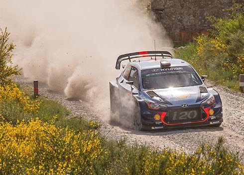 Thierry Neuville rukt op naar tweede plaats in tussenstand WK rally 2017