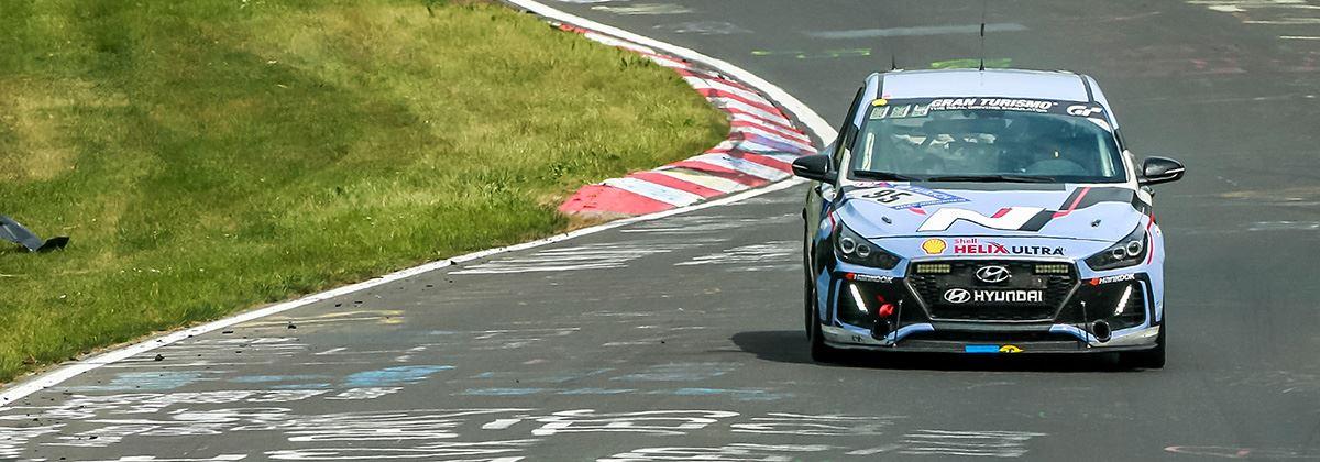 Hot hatch Hyundai i30 N slaagt cum laude op Nürburgring