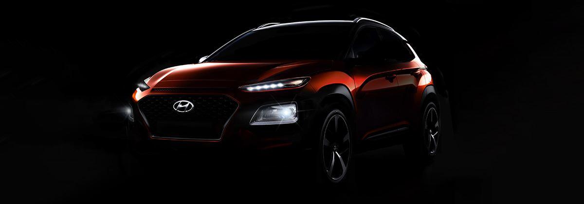 Nieuwe foto's: Hyundai KONA geeft zich bijna helemaal bloot