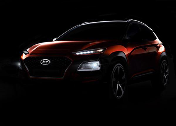 Hyundai KONA geeft zich bijna helemaal bloot op nieuwe foto's