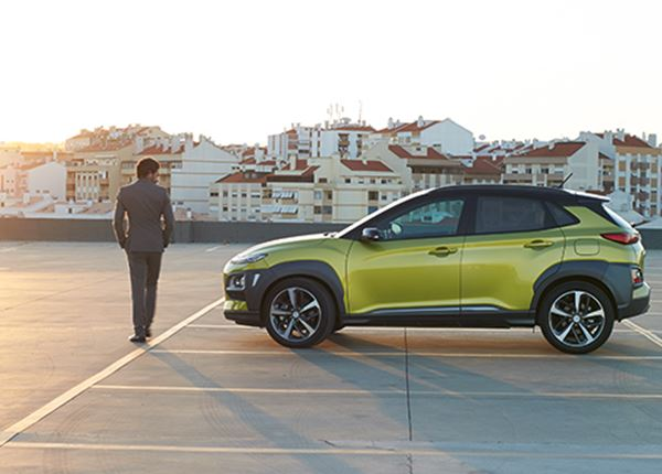 De gloednieuwe Hyundai KONA: in alles opvallend