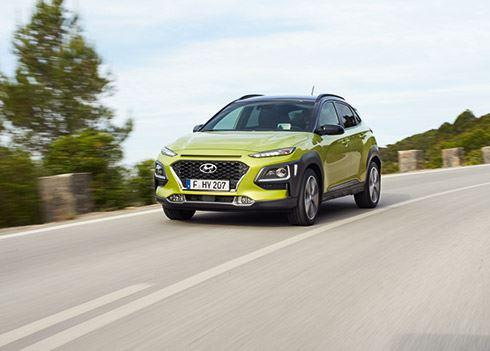 Bekijk hier de eerste rijbeelden van de Hyundai KONA!