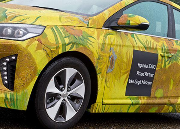 Van Gogh en Hyundai slaan handen ineen