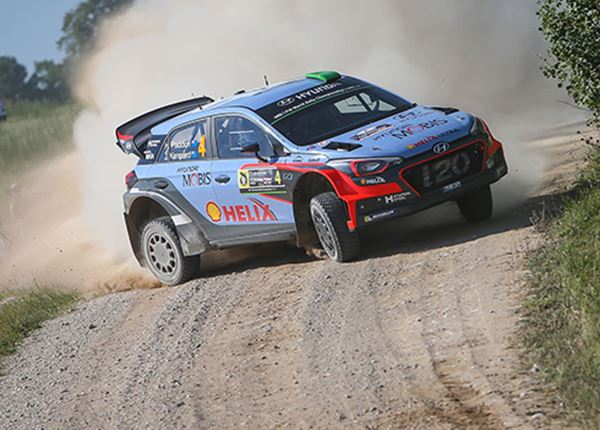 Alweer vijfde podiumplek voor rallyteam Hyundai