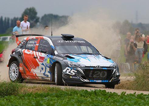 Mijlpaal: Hyundai i20 R5 in de Rally van Corsica