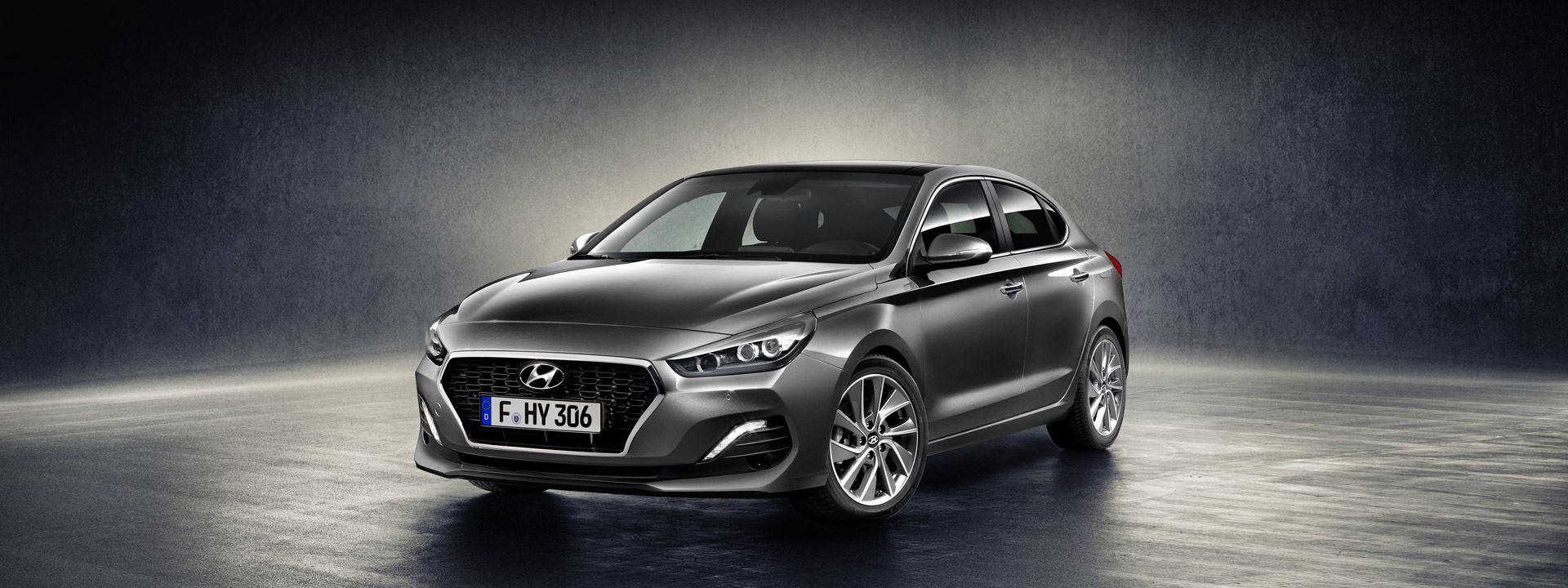 De geheel nieuwe Hyundai i30 Fastback: vol charisma en dynamiek.
