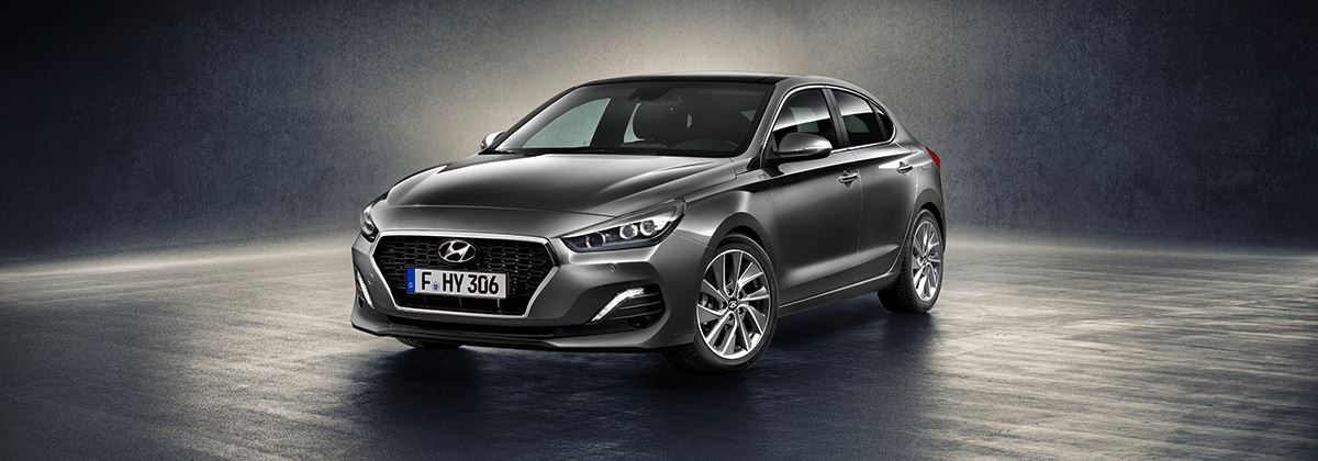 Flamboyant: de nieuwe Hyundai i30 Fastback!