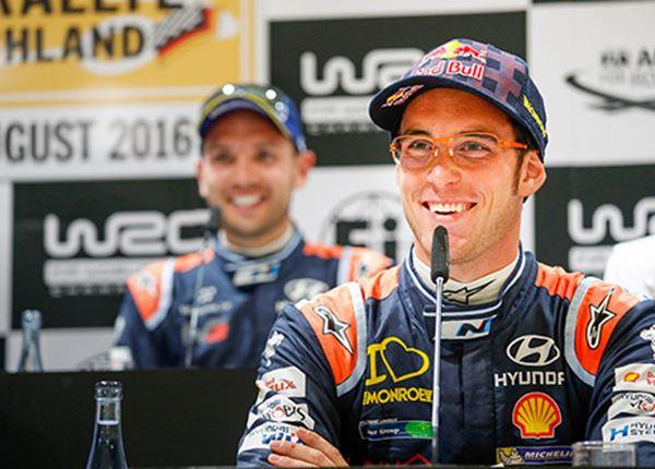 Neuville, Sordo en Paddon blijven bij rallyteam Hyundai