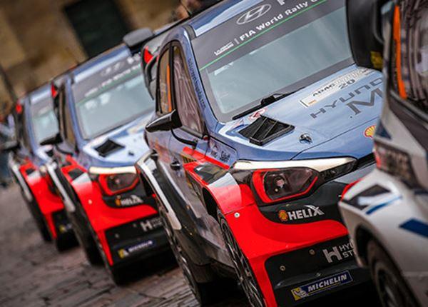 Hyundai op volle sterkte in de Rally van Spanje