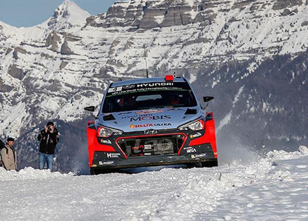 Rallyrijders Hyundai klaar voor strijd om wereldtitel