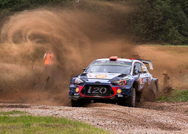 Rally van Finland: Hyundai vecht voor nr1-positie