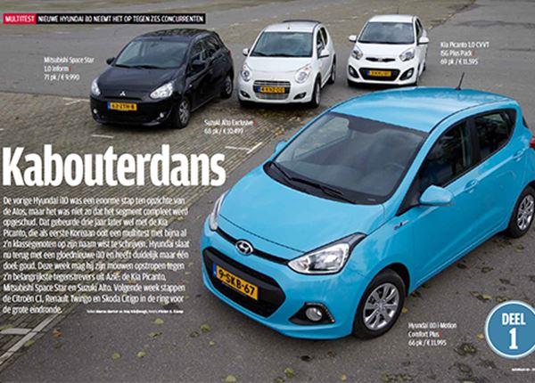 AutoWeek: Hyundai i10 is de beste stadsauto