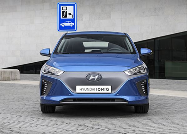 Hoe en waar kun je de Hyundai IONIQ Electric opladen?