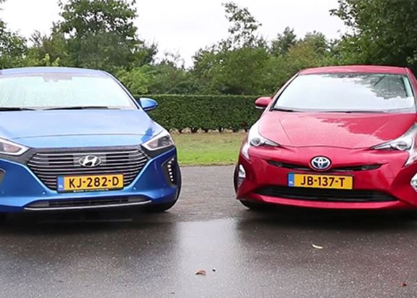 IONIQ Hybrid is Prius de baas in test AutoWeek
