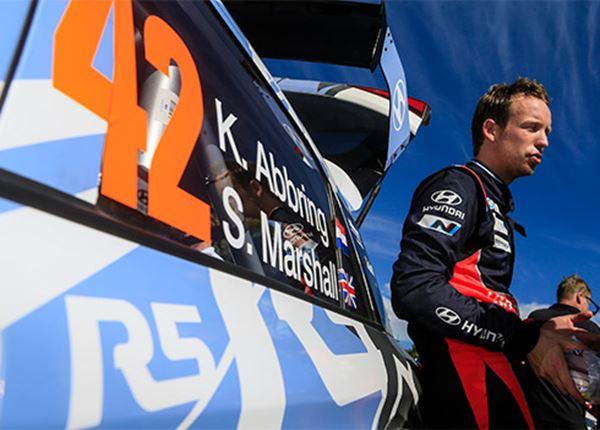 Wat kan Kevin Abbring in de Rally van Wales?