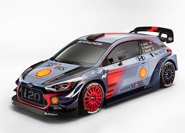 Hyundai presenteert rallyauto voor 2017