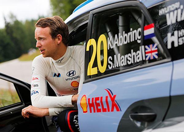 Kevin Abbring scoort eerste top-10 in WK rally