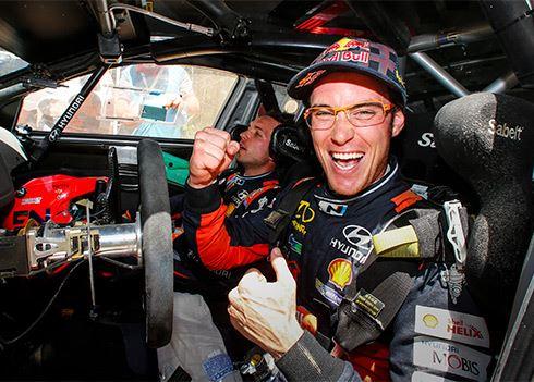 Rallyteam Hyundai geeft visitekaartje af voor 2017