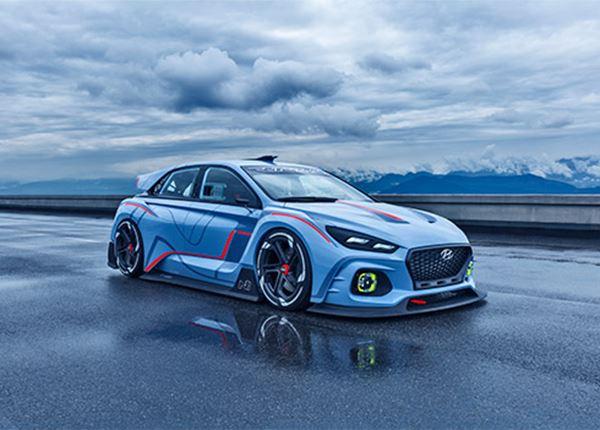 Hyundai RN30 Concept blikt vooruit op komst high-performance Hyundai N-modellen.