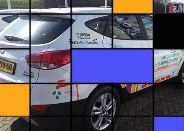 Hyundai ix35 Fuel Cell levert stroom aan het net