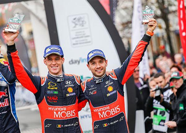 Hyundai dicht bij zilver in strijd om wereldtitel rally