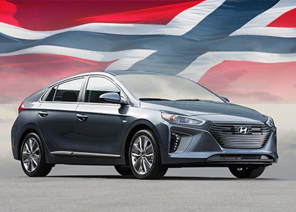 Hyundai IONIQ Auto van het Jaar in Noorwegen