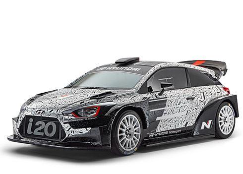 Hyundai toont nieuwe rallyauto voor 2017