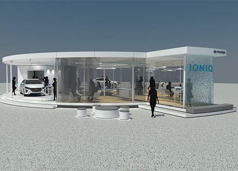 Hyundai lanceert IONIQ Hybrid en Electric in unieke Pop-up Store in Amsterdam.
