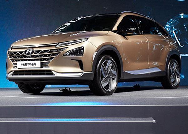 PRIMEUR: eerste foto's nieuwe waterstofauto van Hyundai