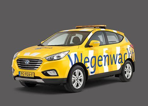 ANWB Wegenwacht kiest voor waterstofauto Hyundai ix35 Fuel Cell