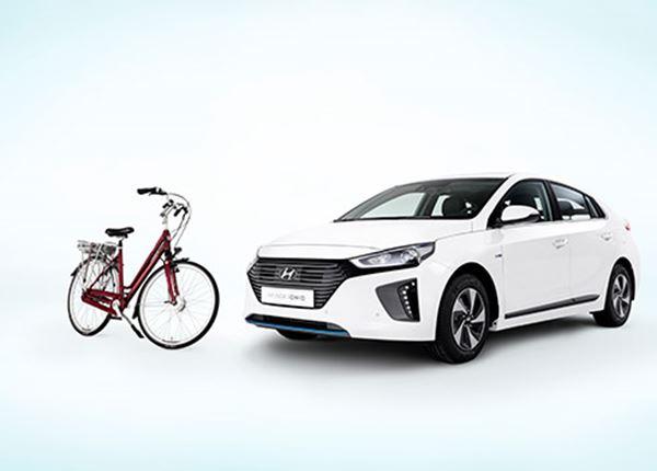 Nieuwe Stella e-bike cadeau bij aankoop Hyundai IONIQ Hybrid