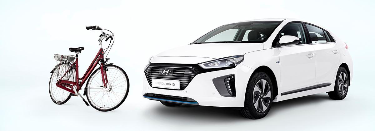 Stella e-bike cadeau bij aankoop Hyundai IONIQ Hybrid