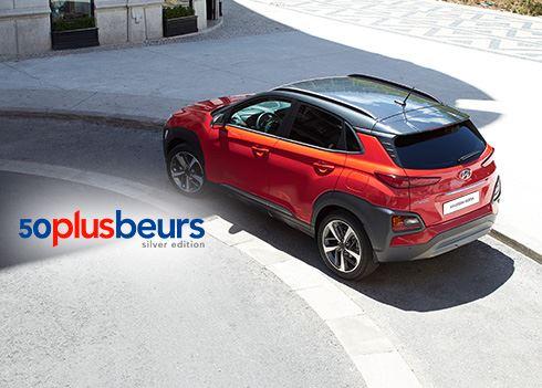 Kom met korting naar de 50PlusBeurs en ontdek de nieuwe Hyundai KONA