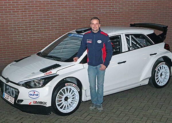 Bob de Jong kiest voor rallyauto Hyundai i20 R5