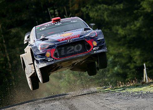 Thierry Neuville tweede in Rally van Wales